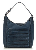 FREDsBRUDER Big Perfect Match Pouch Bag shoulder bag mix of waxed suede cowhide