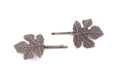 Maple Leaf Barrettes