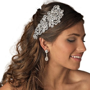 Austrian Clear Crystal Bridal Haircomb