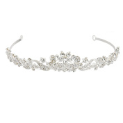 ULTNICE Crystal Wedding Bridal Bridesmaid Crown Tiara Princess Rinestone Headband hairband