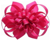 Cerise Handmade Luxurious Loopy Puff Hair Styling Accessories Choice of Colours