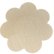 10Pairs(20PCS) Disposable Waterproof Self-Adhesive Stealth Flower Pasties Breast Nipple Cover With Satin Face for Women And Girl