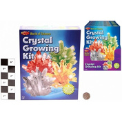 World Of Science Crystal growing Kit - Grow 4 Crystals - Experiment With Crystals.