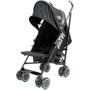 Zeta Citi Black Stroller Buggy Pushchair