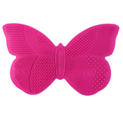 RUIMIO Makeup Brush Cleaning Mat Butterfly Shape