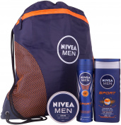 Nivea Men Sports Plus Gift Set - 3-Piece