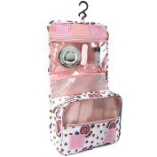 Discoball Portable Travel Folding Make up Toiletry Bags with Hook Organiser Bags Cosmetic Bags