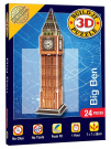 Cheatwell Games Big Ben Build It 3D Mini Monumental Puzzle