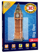 Cheatwell Games Big Ben Build It 3D Mini Monumental Puzzle
