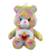 Vivid Imaginations Care True Heart Bear Plush Toy with DVD