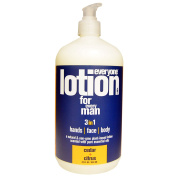 Everyone, Lotion For Every Man 3 in 1, Cedar + Citrus, 32 fl oz (946 ml) - 2pc