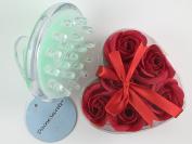 Cellulite Massager + Rose Petal Soap in 1 Gift Set