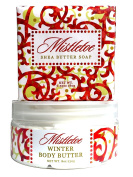 Greenwich Bay Christmas, Thanksgiving, Holiday Scents, Triple Milled Soap and Body Butter Gift Set