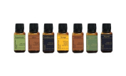 Holiday Favourites, 7 Essential Oils Collection, 15ml Each, By RESURRECTIONbeauty