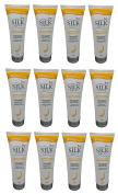 AWARD-WINNING 12 TUBES Ivy Silkshine colour & DAMAGE CARE Daily Hair Conditioner (275ml / 9.3 fl oz each tube) by Leivy - Intensive Repair, Colour-Enhancing, Conditioning, Moisturising