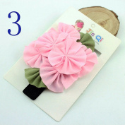 Ingdy(TM) 2016 Summer Elastic Baby Headband Cute Flower Hair Band Children Infant Girl Hair Accessories Floral Hairband