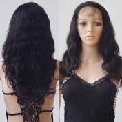 100% Real Thick Long Bady Wave Remy Full Lace Human Hair Wigs for Black Women Natural Looking Virgin Brazilian Lace Front Wigs