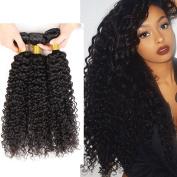 8a Virgin Peruvian Hair Weave Unprocessed Kinky Curly Real Human Hair 4 Bundles 41cm 46cm 50cm 60cm 400g Natural Black