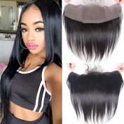 Gamay Hair Brazilian Virgin Human Hair 13x 4 Straight Lace Frontal Closure with Baby Hair Bleached Knots Full Lace Closure