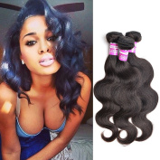 Body Wave Brazilian Hair 8a Unprocessed 100% Virgin Human Hair Natural Black Colour 12 14 41cm