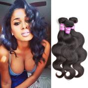 Body Wave Brazilian Hair 8a Unprocessed 100% Virgin Human Hair Natural Black Colour 12 14 41cm