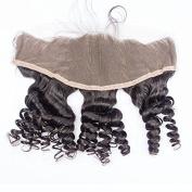 Prida Star Malaysian Virgin Human Kinky Curly Baby Hair 13x 4 Base Size Lace Frontal
