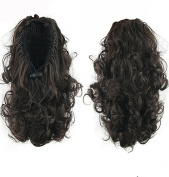 Better-Home Synthetic Hair Curly Drawstring Clip in Ponytail Extensions