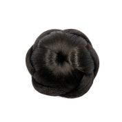 Better-Home Synthetic Hair Bun Hairpiece Clip in Chignon Updo Hair Extensions