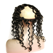 Cici Collection New Style 33cm x 10cm Body Wave Lace Frontal Back With Elastic Natural Hairline with Baby Hair