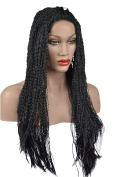 Braided Spiral Lace Front wig Braids