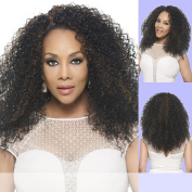 FHW-TYCE (Vivica A. Fox) - Heat Resistant Fibre Half Wig in OFF BLACK