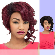 DAISY (Foxy Lady) - Heat Resistant Fibre Lace Part Wig in RT1B613