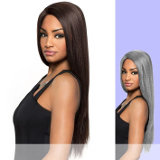 CHARLI (Carefree Collection) - Heat Resistant Fibre Lace Part Wig in RT1BSILVER