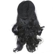DCS Classy Women'S Long Hairs Artificial Medium Black