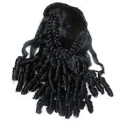 DCS Stylish Women'S Artificial Hairs Black