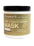 Pierre's Apothecary Twice a Week Restorative Hair Conditioning Mask Coconut Sunflower & Avocado Oils 470ml