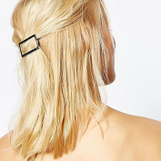 Simple stylish hair or bobby pin rectangle design