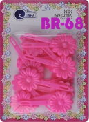 Tara Girls Self Hinge Plastic Bow Hair Barrettes Selection