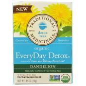 Everyday Detox Dandelion, 16 Bag by Traditional Medicinals Teas