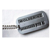 eKingstore New Male Cool Kpop X-men Wolverine 2 Necklace Vintage Weapon-X Dog Tags Pendant - Fashion Design