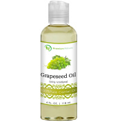 Grapeseed Oil, Natural Carrier Oil 120ml, Light & Silky Moisturiser, Rich In Omega Fatty Acids, Prevents Premature Ageing, Suits All Skin Types - By Premium Nature