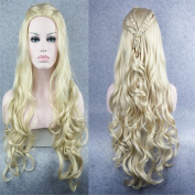 StrongBeauty Sexy Long Blonde Body Wavy Cosplay Wig Game of Thrones Daenerys Inspired