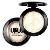 Binmer(TM) UBUB Single Baked Eye Shadow Powder Palette Shimmer Metallic Eyeshadow Palette