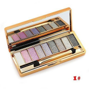 ShineMore 9 Colours Diamond Bright Colourful Eye Shadow Eyeshadow Super Flash Glitter Eyeshadow