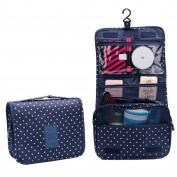 ColorMixs Toiletry Cosmetics Travel Bag Cosmetic Carry Case for Woman Man Travel Organisation