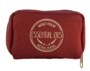 Essential Oil Carrying Case - Fits EIGHT 5ML Bottles - Young Living, Doterra, etc.