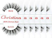 Christina 100% Human Hair False Eyelashes