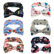 TanGeekor 6pcs Baby Headbans for the Baby Gift