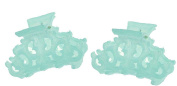 CP2406/2, CLIP Small LIGHT TURQUOISE, ANTIQUE
