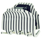CP2364, CLIP Large BLACK & WHITE, STRIPES